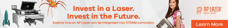 Invest in a laser. Invest in the future. Explore how an AP Lazer can be integrated into STEAM curriculum